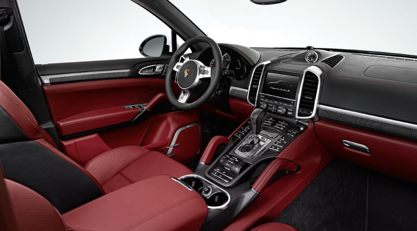 porsche cayenne turbo s 2012 first official pictures by car magazine. Black Bedroom Furniture Sets. Home Design Ideas