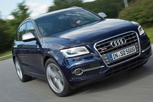 Audi's SQ5 goes on sale in the UK in early 2013 for £43,015