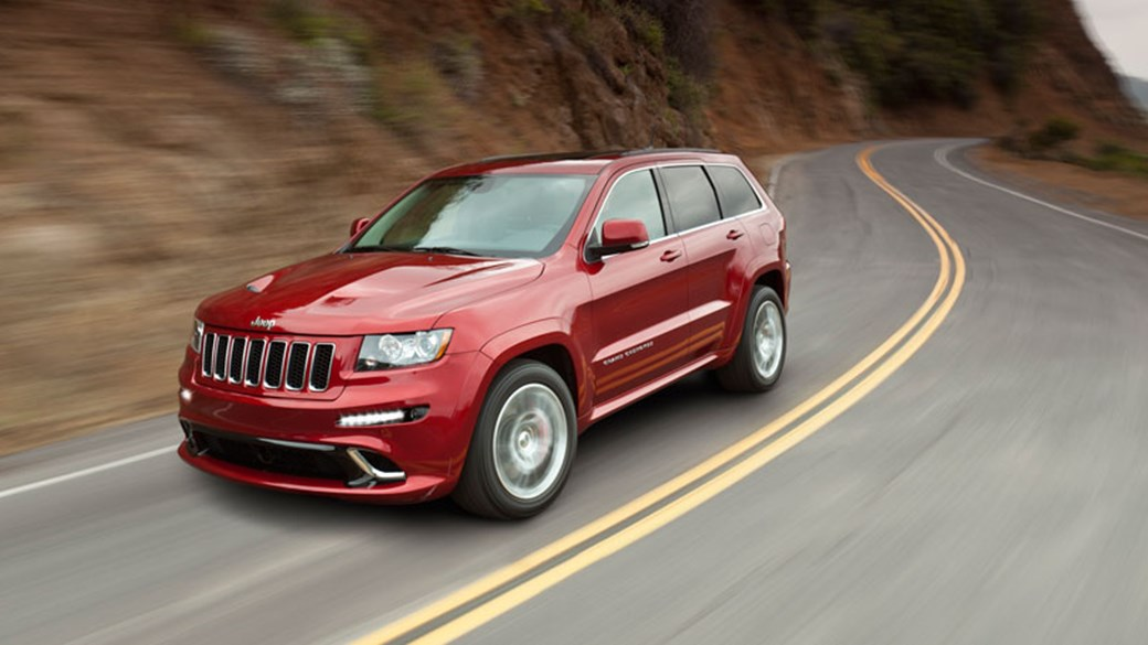 The New Jeep Grand Cherokee SRT8 Packs A 6.4 Litre, 461bhp Punch