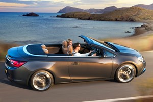 The new Vauxhall Cascada arrives in March 2013