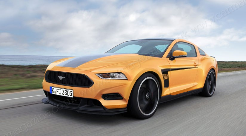 ford mustang 2014 more news and pictures by car magazine. Black Bedroom Furniture Sets. Home Design Ideas