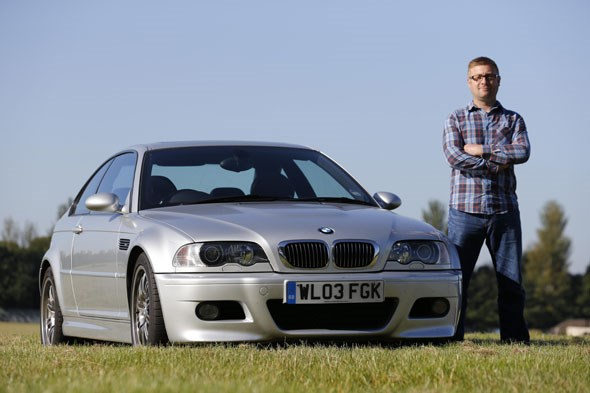 Andy Downes and his eventual E46 BMW M3