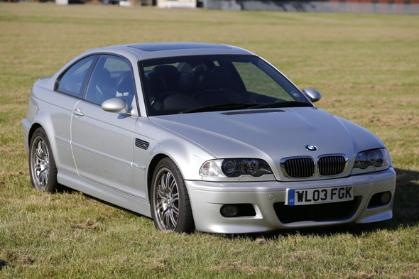 Andy's M3. A tidy example, we'd say