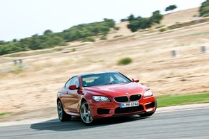 The new BMW M6 develops 552bhp - 10% more power than the old V10 car