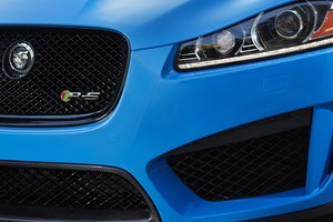 The XFR-S teaser image shows R-S exclusive paint and carbonfibre addenda