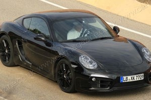 Porsche Cayman (2012): spy shots of the next-gen sports coupe