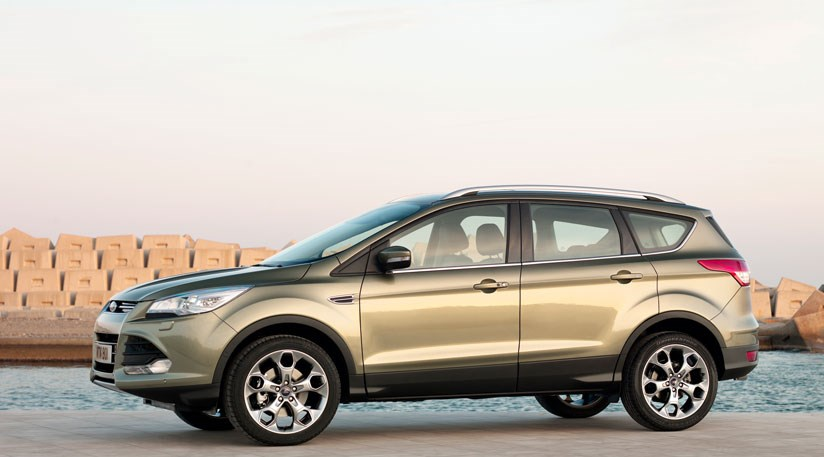 ford kuga 2013 full details on the new soft roader by car magazine. Black Bedroom Furniture Sets. Home Design Ideas
