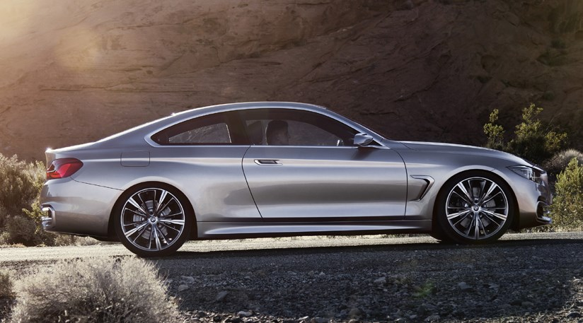 BMW Concept 4series Coupe 2012 first photos by CAR Magazine