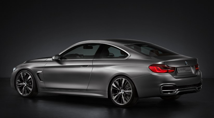 BMW Concept Series Coupe First Photos By CAR Magazine - 2012 bmw 4 series
