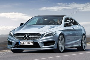 CAR's artist impression of the Mercedes CLA