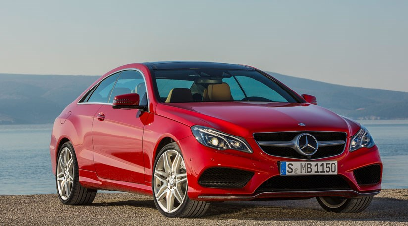 Mercedes Eclass Coupe  Cabriolet facelift 2013 first pictures