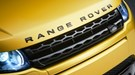Black Range Rover lettering exclusive to the black design pack