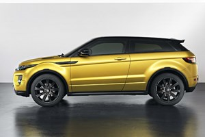 The limited edition Sicilian yellow will hope to further boost the Evoque's already impressive sales figures
