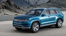 VW CrossBlue concept (2013) first official pictures