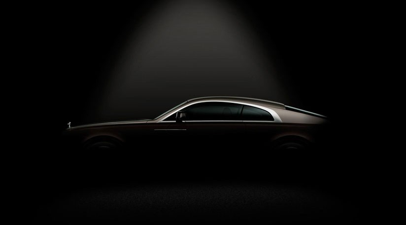 Rolls Royce Wraith 2013 First Teaser Image Of Ghost
