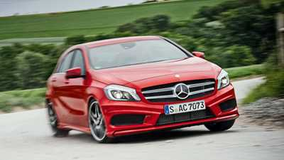 Mercedes a class car magazine for Mercedes benz credit card review