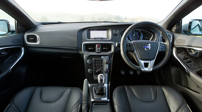 volvo v40 r design 2013 review by car magazine. Black Bedroom Furniture Sets. Home Design Ideas