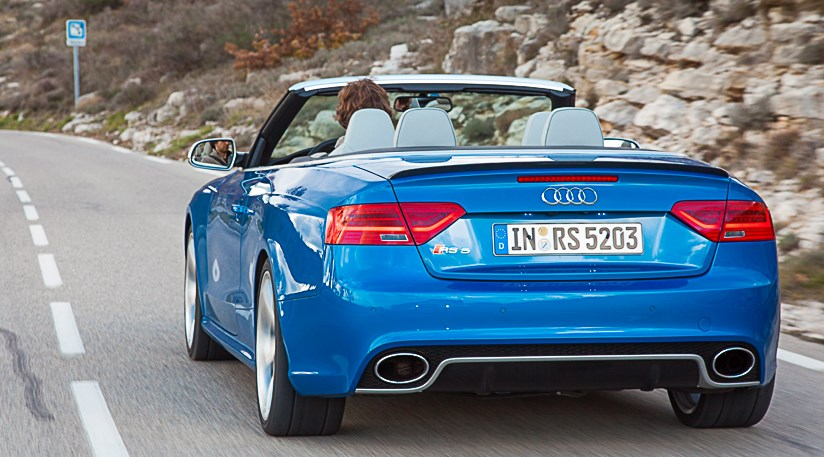 Audi RS5 Cabriolet (2013) review by CAR Magazine