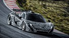Jenson Button in McLaren P1 (2013) supercar fly-by