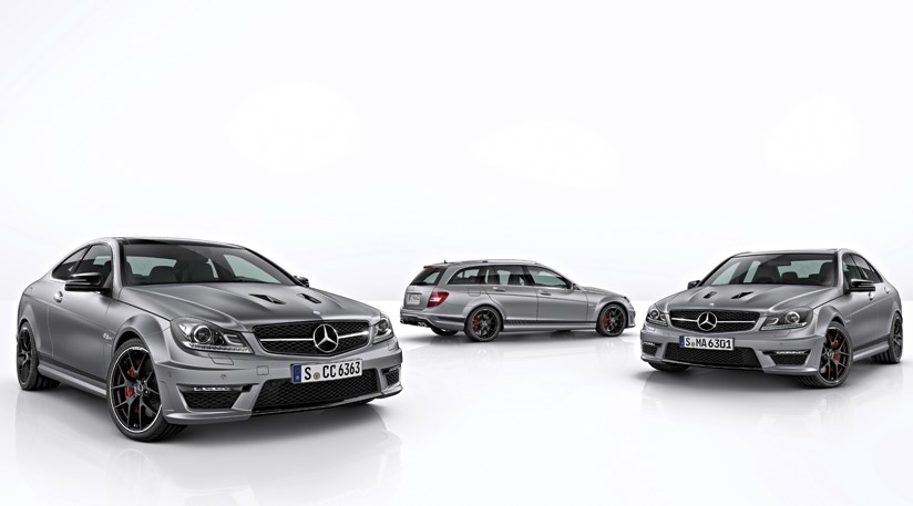 Mercedes C63 AMG Edition 507 2013 first official pictures by
