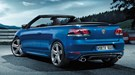 VW Golf R Cabriolet (2013) first official pictures