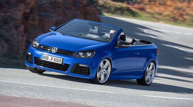 Vw Golf R Cabriolet 2013 First Official Pictures Car Magazine