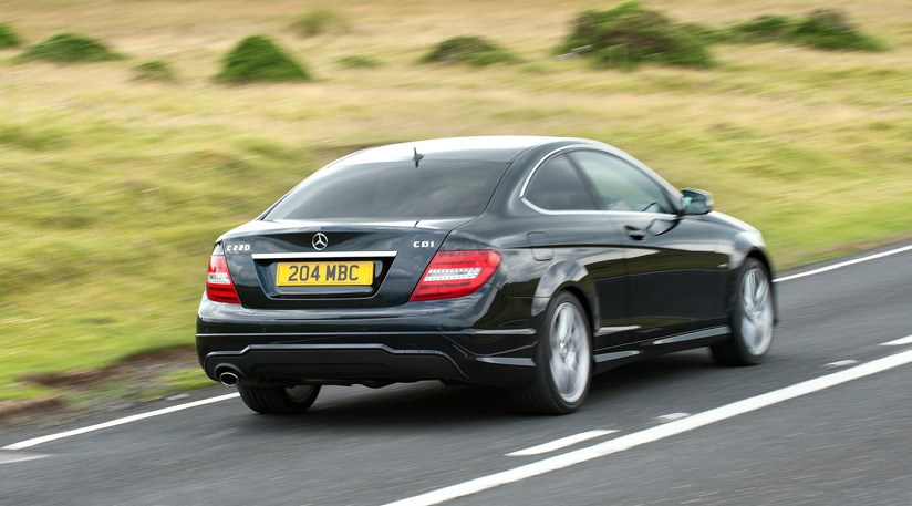 Mercedes c class coupe 2015 scoop by car magazine - Mercedes benz c class coupe 2015 ...