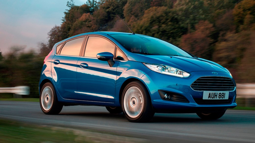 New Ford Fiesta Hatchback 1.0 EcoBoost 125ps Titanium 3dr at ...