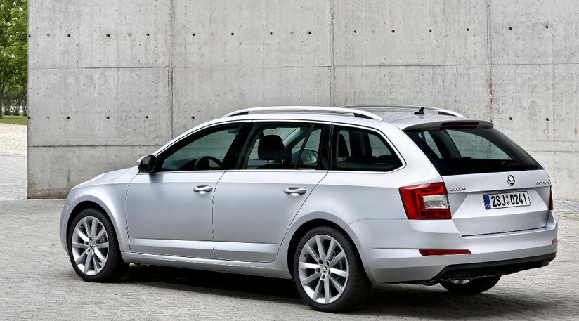 Skoda Octavia Combi 2013 First Official Pictures Car Magazine