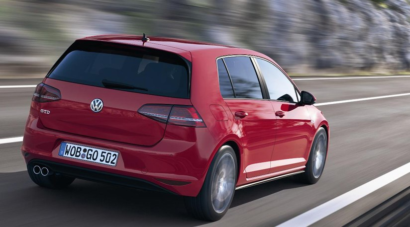 vw golf gtd 2013 first pictures of diesel hot hatch by. Black Bedroom Furniture Sets. Home Design Ideas