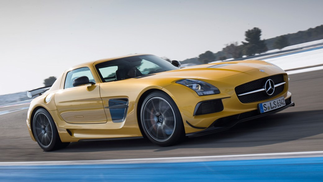 Mercedes SLS AMG Black Series (2013) Review