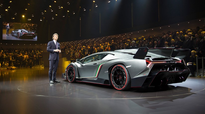 Lamborghini Veneno 2013 First Official Pictures Car Magazine