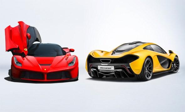 ferrari laferrari vs mclaren p1: the stats and specs battle | car
