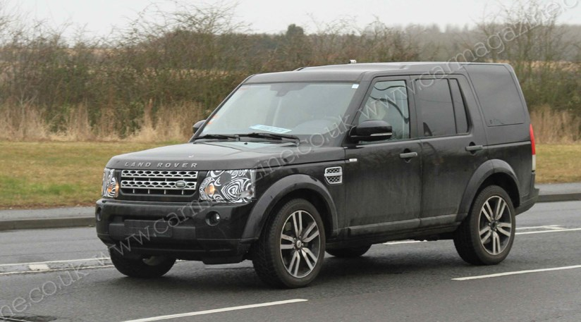 Land Rover Discovery 4 Facelift 2013 Spy Shots By Car