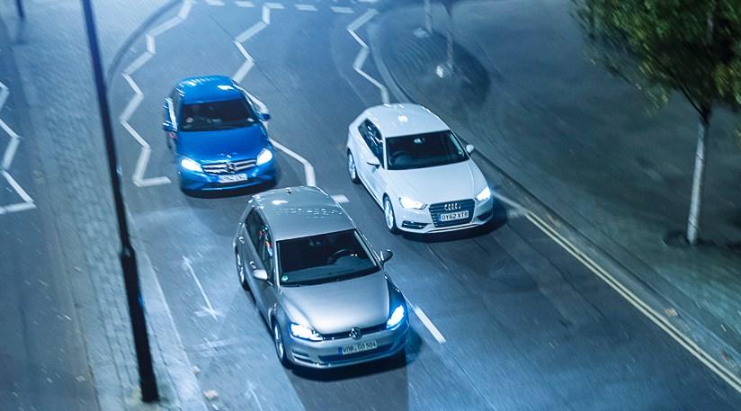 VW Golf 7 vs Audi A3 vs Mercedes A-class review - Golf MK7