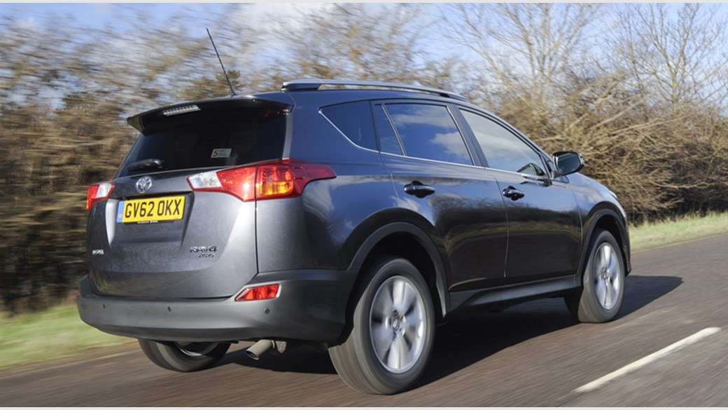Toyota RAV4 2 2 D 4D 2013 review by CAR Magazine