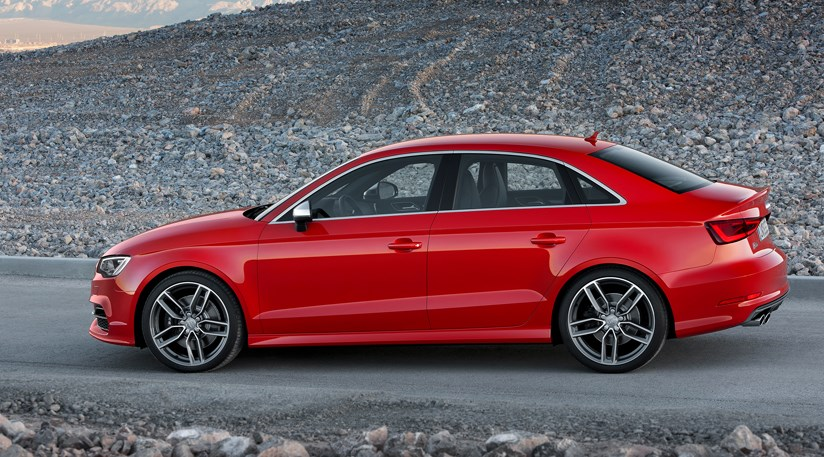 audi a3 and s3 saloon 2013 first official pictures car magazine. Black Bedroom Furniture Sets. Home Design Ideas