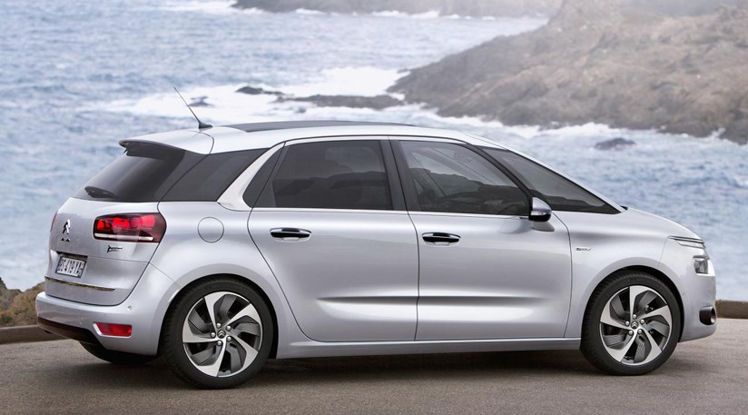 citroen c4 picasso 2013 first official pictures by car magazine. Black Bedroom Furniture Sets. Home Design Ideas