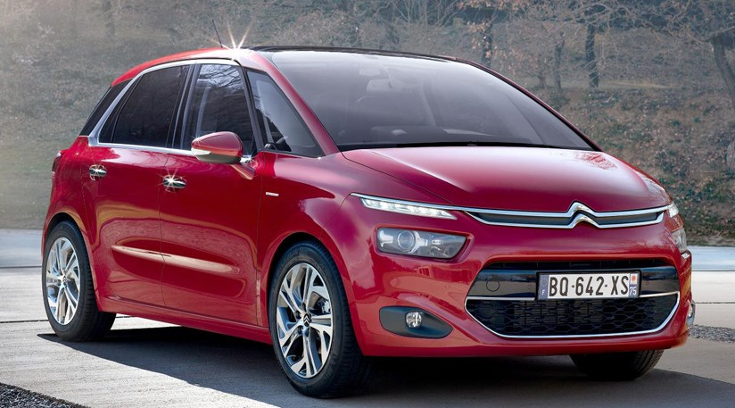 citroen c4 picasso 2013 first official pictures by car. Black Bedroom Furniture Sets. Home Design Ideas