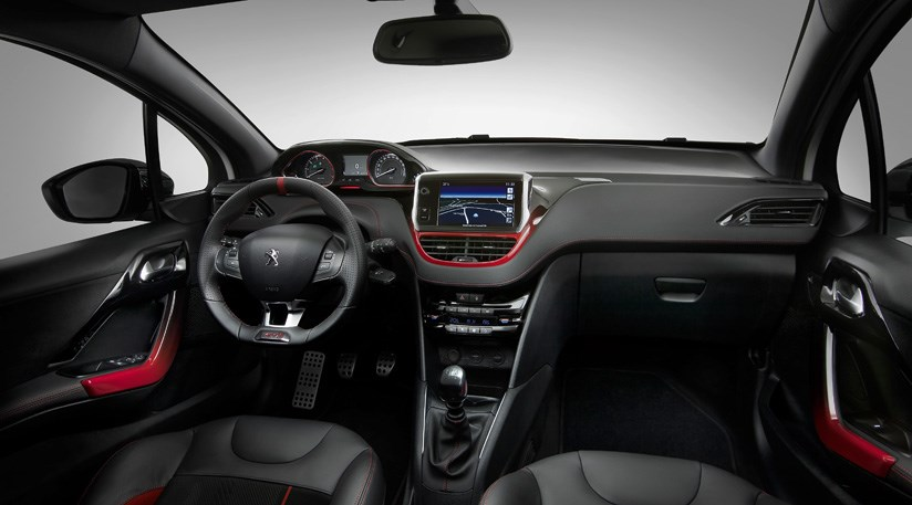 peugeot 208 gti 2013 review by car magazine. Black Bedroom Furniture Sets. Home Design Ideas