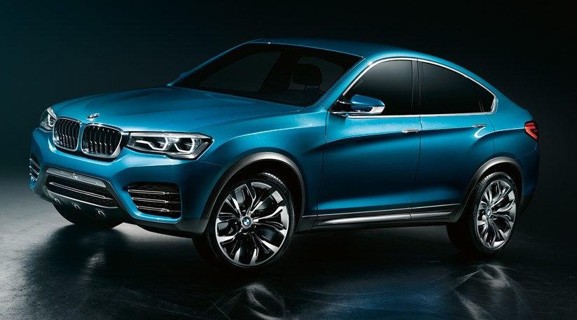 Bmw Concept X4 2013 First Pictures Of Baby X6 Coupe Suv Car Magazine