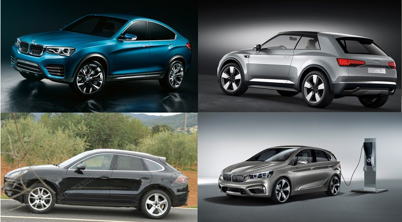 Audi And Mercedes Plot X4 And X6 Rivals But Which Niches