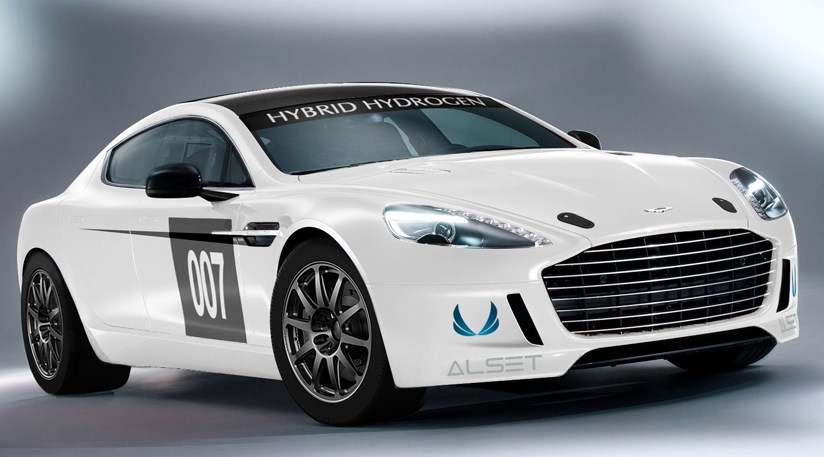Aston Martin Hybrid Hydrogen Rapide S Racer 2013 First Pictures