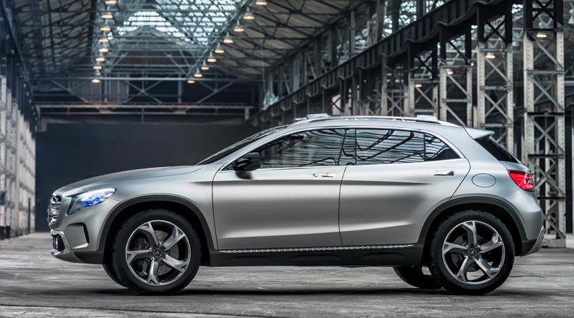 Mercedes Gla Concept 2013 First Official Pictures By Car