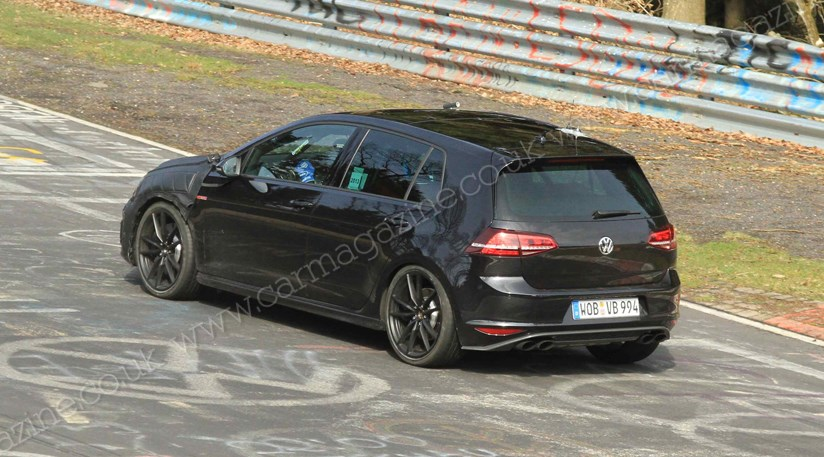 VW Golf R 2013 Spy Shots Of Ultimate Hot
