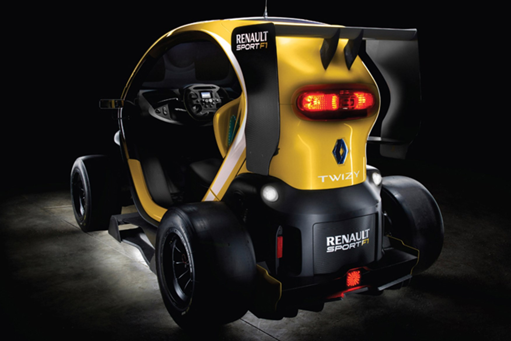 Renault Twizy RS F1 concept (2013) first official pictures by CAR Magazine & Renault Twizy RS F1 concept (2013) first official pictures by CAR ...