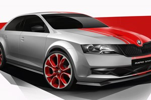 Skoda Rapid Sport concept (2013) first official pictures