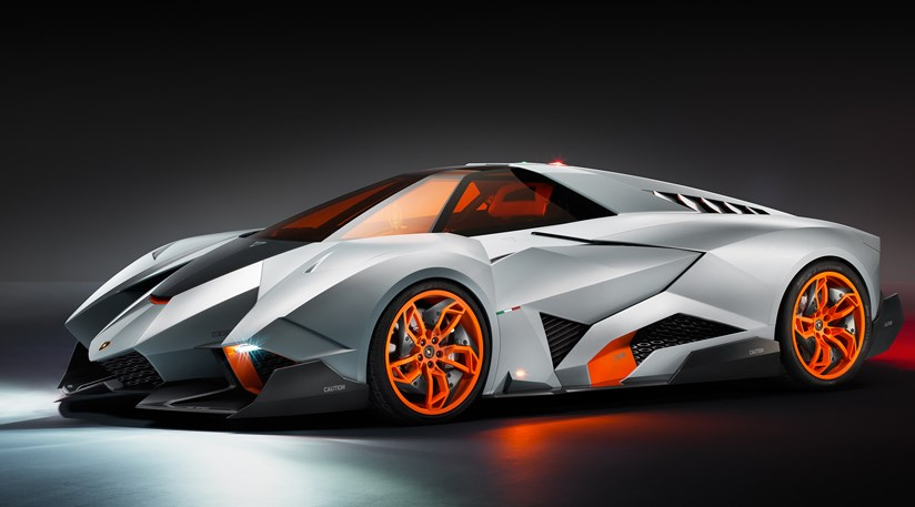 Lamborghini Egoista First Official Pictures By Car Magazine