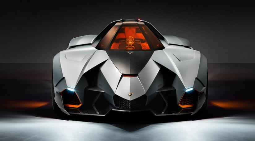 Lamborghini Egoista 2013 First Official Pictures Car Magazine