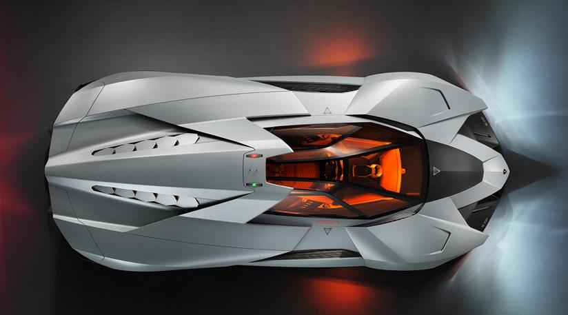advertisement - Lamborghini Egoista Police